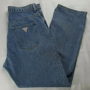 Vintage Made in USA Guess Button Fly Jeans 31x30